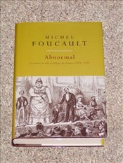 Abnormal : Lectures at the College De France 1974-75 - Foucault, Michel
