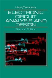Electronic Circuit Analysis and Design 2E - Hayt, William H.
