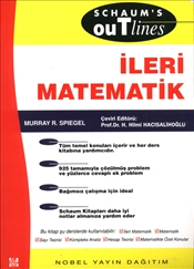 Schaums Outlines İleri Matematik - Spiegel, Murray R.