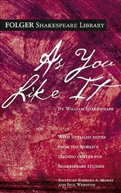 As You Like It  - Shakespeare, William