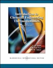 Introduction to Chemical Engineering Thermodynamics 7e [Revised edition] - Smith, J. M.