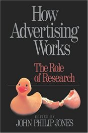 How Advertising Works : Role of Research - Jones, John Philip