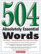 504 Absolutely Essential Words 5e - Bromberg, Murray