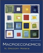 Macroeconomics 6E   - Mankiw, Gregory N.