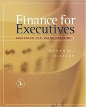Finance for Executives 3e : Managing for Value Creation - Hawawini, Gabriel