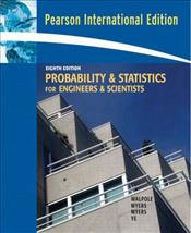 Probability and Statistics for Engineers and Scientists 8e PIE - Walpole, Ronald E.