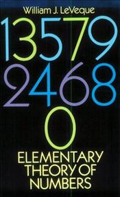 Elementary Theory of Numbers  - Leveque, William J.