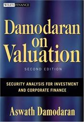 Damodaran on Valuation 2E : Security Analysis for Investment and Corporate Finance - Damodaran, Aswath