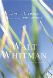 Laws for Creations - Whitman, Walt