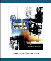 Abnormal Psychology 4e - Nolen-Hoeksema, Susan