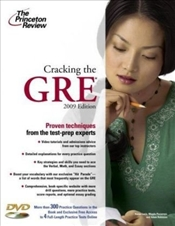 Cracking the GRE with DVD 2009  -