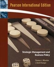 Strategic Management and Business Policy 11e PIE - Wheelen, Thomas L.