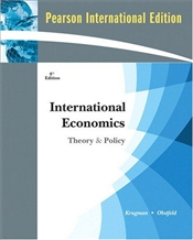 International Economics 8e PIE : Theory and Policy - Krugman, Paul R.