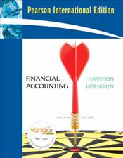 Financial Accounting 7e : Coursepack Edition - Harrison, Walter T.