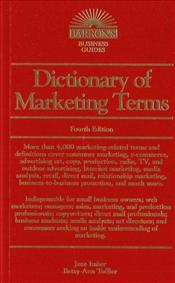Dictionary of Marketing Terms - Imber, Jane