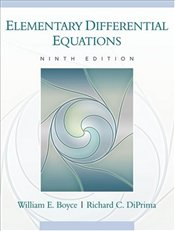 Elementary Differential Equations 9E - Boyce, William E.