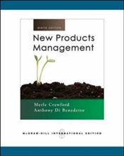 New Products Management 9e [Revised edition] - Crawford, Merle