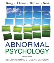Abnormal Psychology 11e ISV - Kring, Ann M.