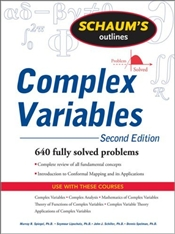 Schaums Outline of Complex Variables 2e : Revised Edition - Spiegel, Murray R.