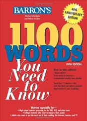 1100 Words You Need to Know 5e - Bromberg, Murray