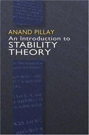 Introduction to Stability Theory - Pillay, Andand