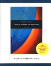 Financial Markets and Institutions 4e : Revised Edition - Saunders, Anthony