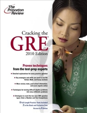 Cracking the GRE, 2010 -