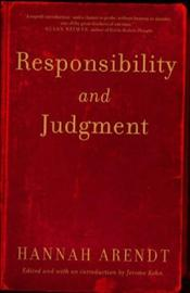 Responsibility and Judgment - Arendt, Hannah