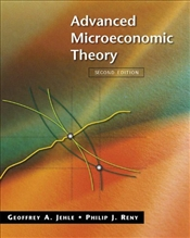 Advanced Microeconomic Theory 2e - JEHLE, GEOFFREY A.