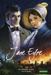 Jane Eyre : Graphic Novel - Quick Text - Bronte, Charlotte