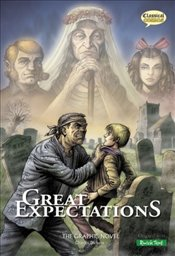 Great Expectations : Graphic Novel - Quick Text - Dickens, Charles