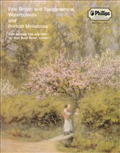 Fine British and Topographical Watercolours and Portrait Miniatures -
