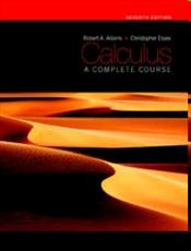 Calculus 1E : Complete Course - Adams, Robert A.