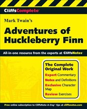 Cliffs Complete : Mark Twains Adventures of Huckleberry Finn  - Twain, Mark