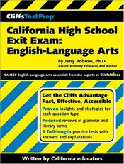 Cliffs Test Prep : California High School Exit Exam : English Language Arts  - Bobrow, Jerry