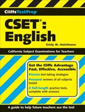 Cliffs Test Prep : CSET : English  - Hutchinson, Emily