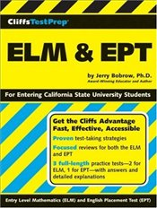 Cliffs Test Prep : ELM and EPT  - Bobrow, Jerry