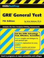 Cliffs Test Prep : GRE General Test 7e - Bobrow, Jerry