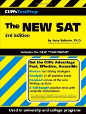 Cliffs Test Prep : New SAT 3e : Includes the New PSAT/NMSQT  - Bobrow, Jerry