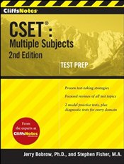 Cliffs Notes : CSET 2e : Multiple Subjects  - Bobrow, Jerry