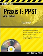 Cliff Notes : Praxis I 4e with CD : PPST  - Bobrow, Jerry