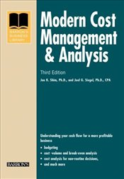 Modern Cost Management and Analysis 3e - SHIM, JAE