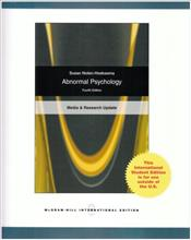 Abnormal Psychology 4e : Interactive Edition - Nolen-Hoeksema, Susan