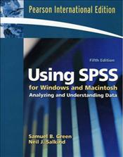 Using SPSS for Windows and Macintosh 5e PIE : Analyzing and Understanding Data - Green, Samuel