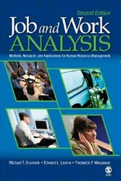 Job and Work Analysis 2e : Methods, Research and Applications for Human Resource Management - Brannick, Michael T.