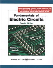 Fundamentals of Electric Circuits 4e  - Alexander, Charles K.