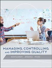 Managing Controlling and Improving Quality - Montgomery, Douglas C.