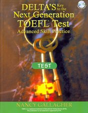 Deltas Key to the Next Generation TOEFL TEST + 3 CDs - Gallagher, Nancy