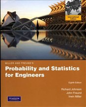Miller & Freunds Probability and Statistics for Engineers 8e PIE - Johnson, Richard