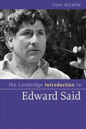 Introduction to Edward Said - McCarthy, Conor